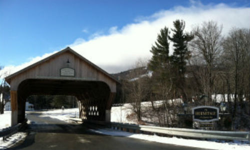 hermitage inn covered bridge